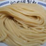 85842701 - 炒め野菜 濃厚豚骨魚介つけ麺(麺)