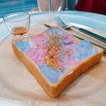 リットアップ キョウト - Sky vibes on toast