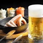 ビヤステーション恵比寿 - ビールに合うお料理をいろいろ揃えました。