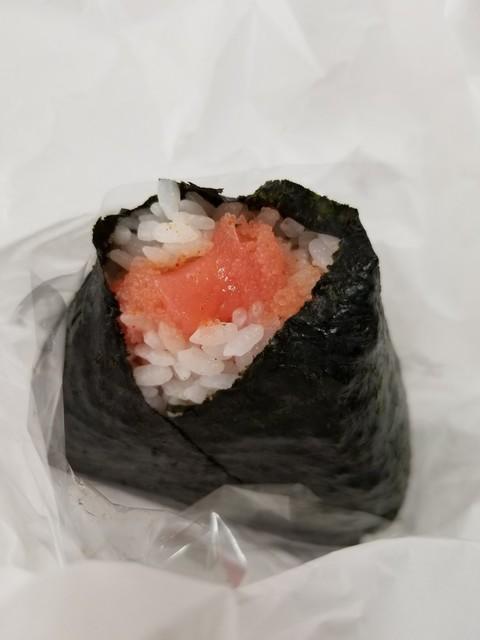 めんたいパーク 大洗 - 明太おにぎり380円