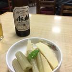 動坂食堂 - フキと筍さんがお行儀よく交わりました