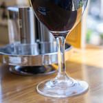 ランチョン - 紅葡萄酒(さけ)