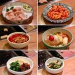 焼肉 グルマンズいとう - 和牛ミノ、豚ホルモン、ユッケジャンスープ、冷麺、ナムル
