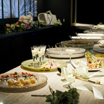 BAR LOUNGE 1818 - ウェディング二次会 料理プラン・カウンターブッフェ形式