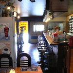 ティペット喫茶レストラン - カウンター席です
