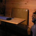 ティペット喫茶レストラン - 一人用のテーブル席です