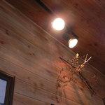 ティペット喫茶レストラン - 照明です