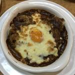 ルグラン - 玉子とチーズの焼カレー780円