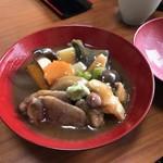 ばん亭 - ♢天然鴨の治部煮椀