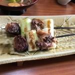 ばん亭 - ♢天然鴨の串焼き