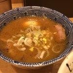 めん徳二代目 つじ田 - 濃厚特製つけ麺 1080円。