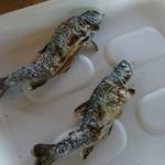 滋賀県南郷水産センター - 料理写真:焼きあがった鱒