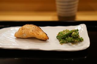 御りょうり屋 伊藤 - 桜鱒の幽庵焼き