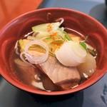 ノーザンテラスダイナー - 三平汁!朝から具沢山スープで温まる♪