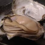 麦酒庵 - 蒸し牡蠣