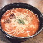 あんず村 - 料理写真:どんすぱ トマト