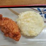85855606 - いか天と、玉葱天ぷら
