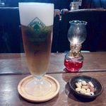 珈琲はうす あんず村 - 生ビール(ハートランド)