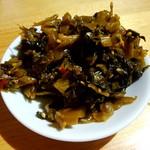 麺屋 じすり - サービスの高菜