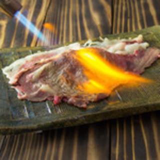 ★当店看板★肉寿司名物《さしとろ》