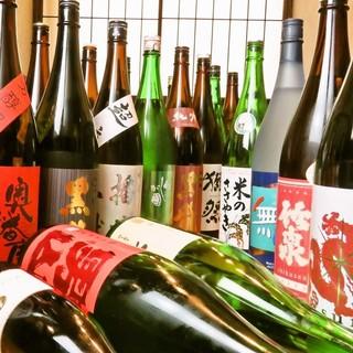 充実の日本酒♪