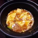 薫風 梅み月 - 麻婆豆腐
