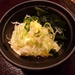 薫風 梅み月 - 汲み豆腐