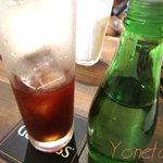 esakaitarianrapporuthi - こだわりアイスコーヒーとシロップ