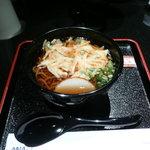 ANAスイートラウンジ - かき揚げ蕎麦