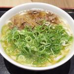 因幡うどん - 肉うどん(650円)