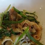 Trattoria ALBERO - コクのある豚ラグーがそのままソースなので、グッと深みのある味わい