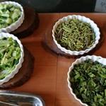 Trattoria ALBERO - 種類豊富な野菜がズラリ!野菜不足が解消できるサラダビュッフェ(その2)
