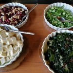 Trattoria ALBERO - 種類豊富な野菜がズラリ!野菜不足が解消できるサラダビュッフェ(その3)