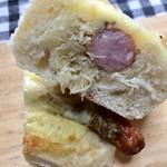 メゾンカイザー仙台 - タルタルソースを使った「フランス風ホットドッグ」です♫