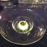BISTRO FAVORI - 新玉葱のブランマンジェ