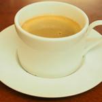 浪花家総本店 - たいやき(2個)セット 800円 のコーヒー