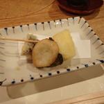 85865837 - 陽だまり 大和野菜いろいろ 天ぷら