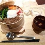 ソーネカフェ - わっぱ飯ランチ¥650