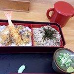 北のそば和佳亭 - 天丼セット♬(冷)