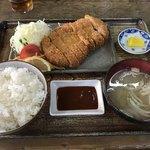 とん亭 - 料理写真:特上ロースかつ定食=1140円