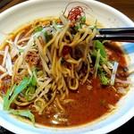 四川麺匠 炎 - 有りがちな大陸系汁あり担々麺…
