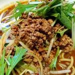 四川麺匠 炎 - ポロポロ系炸醤肉末