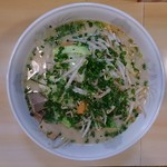 はらだ - 料理写真:塩とんこつ野菜ラーメン