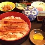 かねよし - 穴子ご飯定食 1000円