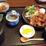 かねよし - 生姜焼き定食 1000円