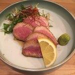 佳酒旬肴 のすけ - 鴨肉しっとり煮