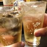大安 - 仲間と乾杯