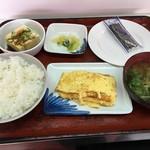 ヤマトモチスエヒロ食堂 - 朝定食
