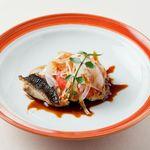 メゾン・ド・ユーロン - 本日の鮮魚のソテー 赤酢ソース