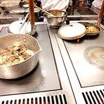 丸亀製麺 - あさりだしは最後に、こちらで掛けていただけます!